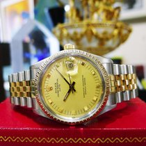 Rolex Oyster Perpetual Date Yellow Gold Stainless Steel 34mm...