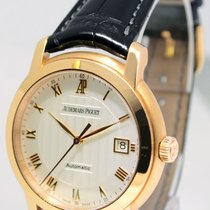 Audemars Piguet Jules 18k Rose Gold 39mm Mens Automatic Watch...