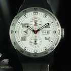 Porsche Design Flat Six Automatic, Satin titanium, white,