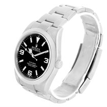 Rolex Explorer I Stainless Steel Black Dial Automatic Watch...