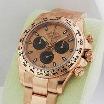 Rolex Cosmograph Daytona Men's Rose Gold Watch 116505 Pink...