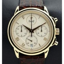 Piaget | Gouverneur Chronograh Yellow Gold Ref. 12978, Full Set