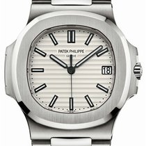 Patek Philippe Nautilus 5711/1A White Index Stainless Steel...