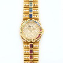 Chopard Yellow Gold St. Moritz Diamond & Multi-Color...