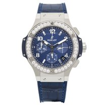 Hublot Big Bang Steel Blue Diamonds 41 mm