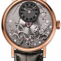 Breguet 7057 La Tradition 40mm Skeleton Dial - Rose Gold