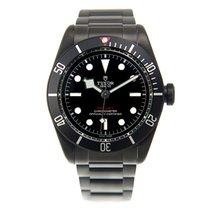 Tudor New  Heritage Stainless Steel Black Automatic 79230DK