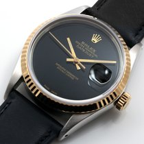"Rolex 36mm TT Datejust Custom Black ""Onyx"" Dial..."