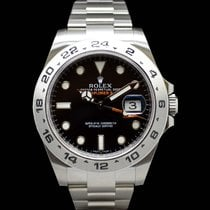롤렉스 (Rolex) Explorer II 216570 Black Dial NEW