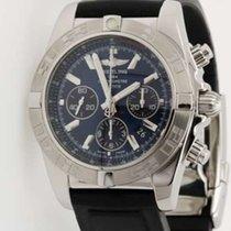 Breitling Chronomat 44 Chronograph B01 - blue dial AB0110