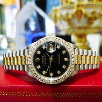 Rolex Tridor Datejust Tri-color Gold Factory Diamond President...