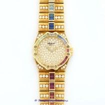 Chopard Yellow Gold St. Moritz Diamond & Multi-Color...