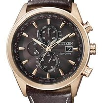 Citizen Elegant Eco Drive Funk Herrenchronograph AT8019-02W