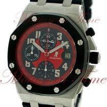 "Audemars Piguet Royal Oak Offshore ""Masato"", Black/Red..."