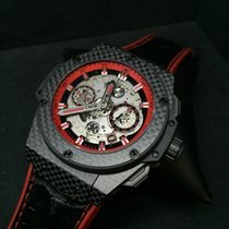 Hublot King Power Unico Carbon and Red 48mm