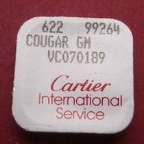 Cartier Krone Cougar, achteckig , Stahl, VC070189