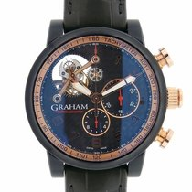 Graham Silverstone Tourbillograph 18K Rose Gold
