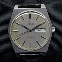 Omega GENEVE DAY DATE AUTOMATIC SWISS WRISTWATCH