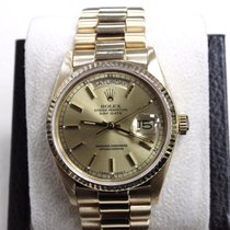 Rolex President 18038 Day Date Single Quick 18K Yellow Gold