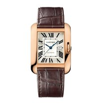 Cartier Tank Anglaise Automatic Ladies Watch Ref W5310005