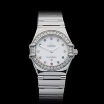 Omega Constellation Gem set Mother of Pearl Dial Stainless...
