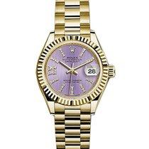 Rolex Unworn 279178lils36dix8dp Rolex Ladys President 28mm in...