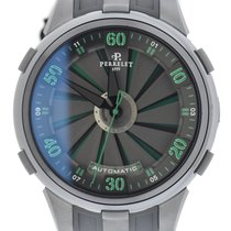 Perrelet Turbine XL Double Rotor Stainless Steel