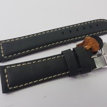 Suede Leather Watch Strap handmade  20 mm