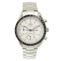 Ωμέγα (Omega) Speedmaster Stainless Steel White Automatic...