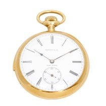 Tiffany & Co Minute Repeater Gold Pocket Watch