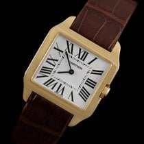 Cartier Santos Dumont Midsize Mens / Ladies Watch - 18K Gold -...