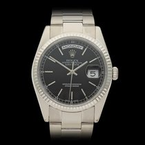 Rolex Day-Date 18k White Gold Gents 118239