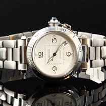 Cartier Pasha Automatic Steel 38mm Ref 2378