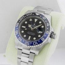 Rolex GMT Master II 116710 BLNR Black Blue Ceramic Bezel SS NEW