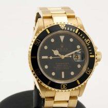 Rolex Submariner 18k yellow gold 16618
