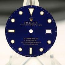 Rolex Zifferblatt für Submariner 16803 / 16808 blau samt...