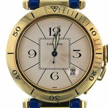Cartier Pasha 1989 38mm 18K Solid Gold Automatic