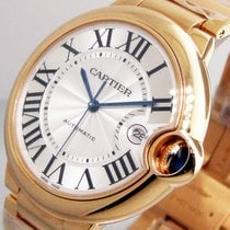 Cartier Ballon Bleu W69006z2 42 Mm 18k Rose Gold Large Size...