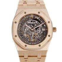 Audemars Piguet Royal Oak Openworked Extra-Thin Mens Watch...