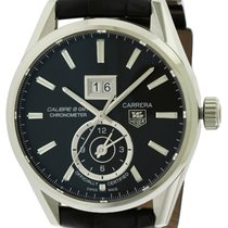 TAG Heuer Carrera Automatic Leather Mens Watch