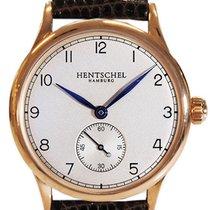 Hentschel Hamburg H1 Chronometer Rose Gold / Bronze, 34.5mm