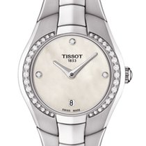 Tissot T-Round Mother Of Pearl White Dial 25,9mm T