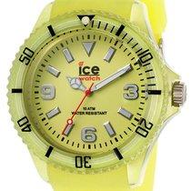 Ice Watch Ice-Glow Polyamide & Silicon Mens Yellow Fashion...