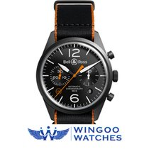 Bell & Ross BR 126 CARBON ORANGE Ref. BRV126-O-CA