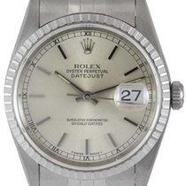 "Rolex Datejust Men's ""No Holes"" Steel Watch,..."