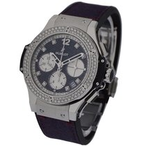 Hublot 341.SX.2790.NR.1104.JEANS14 Big Bang Jeans in Burgundy...
