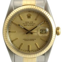 Rolex Datejust Men's Steel and Gold Watch, Champagne...