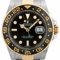 Rolex GMT Master II Steel & 18ct Yellow Gold 116713LN
