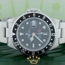 Rolex GMT-Master Black Dial 40mm Automatic Steel Oyster Mens...