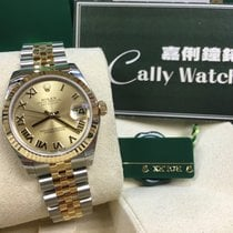 Rolex Cally - 178273 Datejust 31MM Champ Roman Dial Jub Brac...